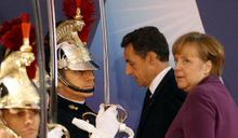 Nicolas Sarkozy Le défi européen