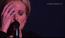 La chanson de Patricia Kaas à l'Eurovision