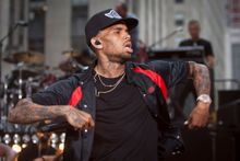 Chris Brown arrêté