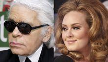 Karl Lagerfeld vs Adele: un conflit de poids