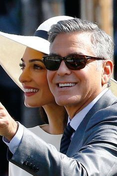 Amal et George Clooney, Just Married