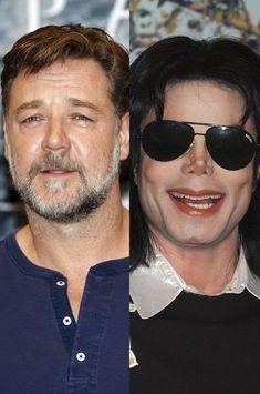 Russell Crowe harcelé par Michael Jackson
