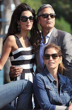 Noël au Mexique pour Amal et George Clooney