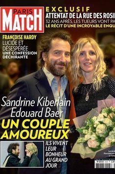 Sandrine Kiberlain et Edouard Baer, un couple amoureux