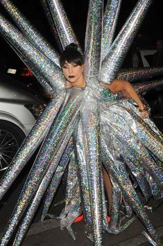Lady Gaga aux branches d'argent