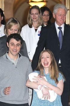 Chelsea Clinton: premières photos de son bébé