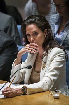 Angelina Jolie plaide pour les réfugiés syriens