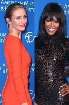 Cameron Diaz et Naomi Campbell illuminent un nouveau gala