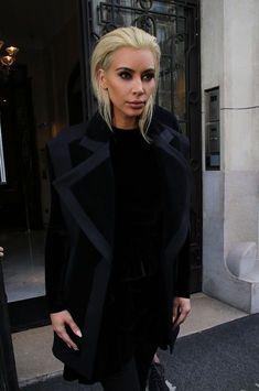 Kim Kardashian dévoile son nouveau look
