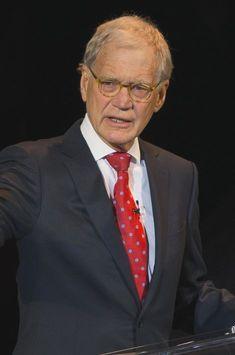 C'était David Letterman