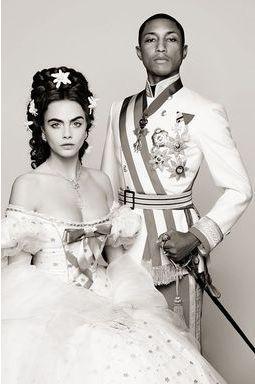 Superstars d'Autriche pour la nouvelle campagne Chanel