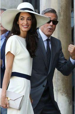 George et Amal en Angleterre