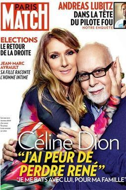 Céline Dion a peur pour son mari