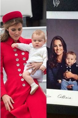 Baby George affole la toile
