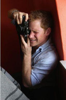 Harry, le prince photographe