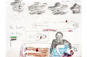 La guerre dessinée par des enfants syriens