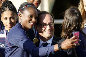 Les athlètes français à l'honneur