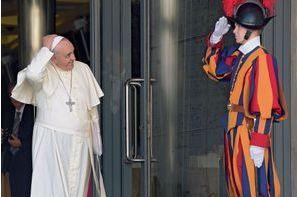 Les hommes du pape François