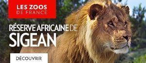 Réserve africaine de Sigean - colonne de droite