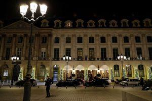 La façade de l'hôtel du Ritz à Paris.