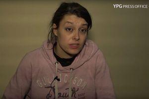 Emilie König dans une des deux vidéos publiées par l'YPG