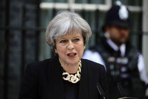 La Première ministre britannique Theresa May à Londres, le 4 juin 2017.