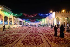 Dans le souk de Al Qaisariya, en Arabie Saoudite.