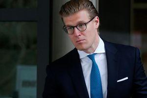 Alex van der Zwaan, l'avocat condamné mardi à 30 jours de prison.