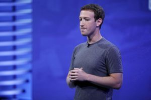 Mark Zuckerberg, PDG de Facebook, à San Francisco le 12 avril 2016.