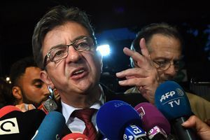 Jean-Luc Mélenchon à Marseille après le premier tour des législatives.