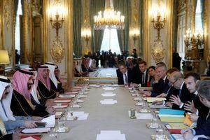 Le prince héritier saoudien Mohammed ben Salmane a été reçu ce mardi à l'Elysée