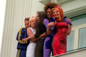 Les Spice Girls à Cannes en 1997.
