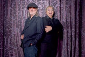 Roger Glover et Ian Paice, en février dernier.