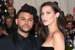 Bella Hadid et The Weeknd au MET Gala en mai 2016