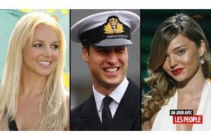 Britney Spears, le prince William et Miranda Kerr