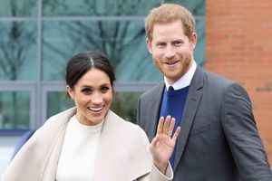 Meghan Markle et le prince Harry, le 23 mars 2018.