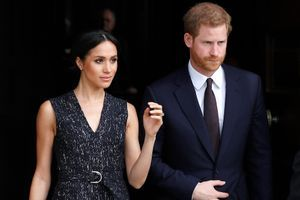 Meghan Markle et le prince Harry, le 23 avril 2018