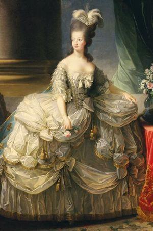 Portrait de Marie-Antoinette par Elisabeth Vigée-Lebrun en 1778
