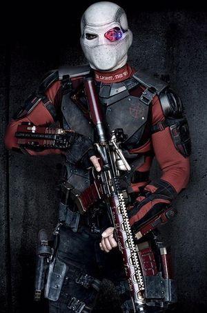 Will Smith dans le rôle du super-vilain Deadshot