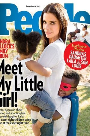 Sandra Bullock présente sa fille, Laila.