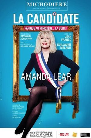 """Amanda Lear à l'affiche de """"La Candidate"""""""