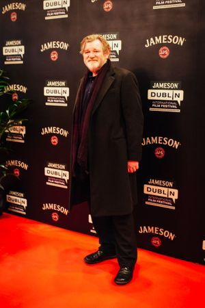 Brendan Gleeson à l'ouverture du Festival du Film de Dublin.
