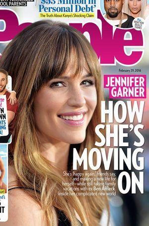 """Jennifer Garner a """"tourné la page"""" selon ses proches"""