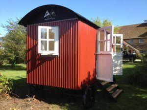 Un modèle de cabane Plankbridge.