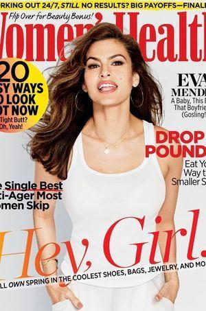 """Eva Mendes prend la pose en couverture de """"Women's Health"""""""