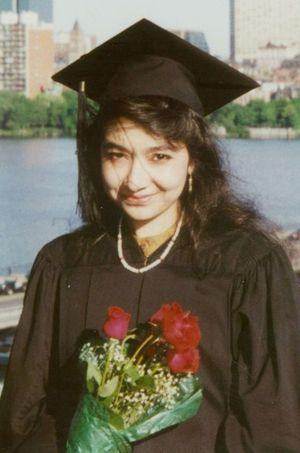 Aafia Siddiqui, alias Lady al-Qaïda, sur une photo non datée.