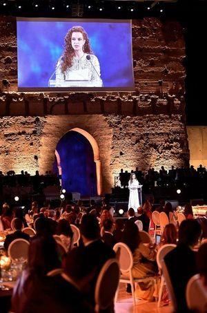 La princesse Lalla Salma a présidé un dîner de gala caritatif pour les 10 ans de sa Fondation