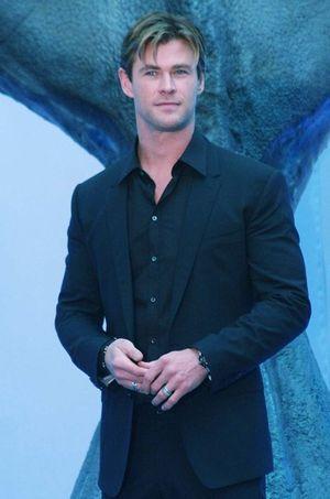 Chris Hemsworth le 23 novembre au Mexique.