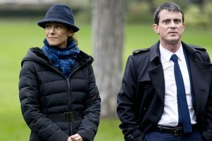 Manuel Valls et sa femme Anne Gravoin