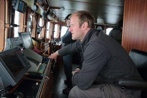 Dion Poncet, capitaine au grand cœur et expert reconnu de la navigation dans les glaces.